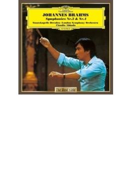 交響曲第3番、第4番 アバド&シュターツカペレ・ドレスデン、ロンドン交響楽団