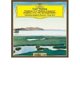 交響曲第4番『不滅』、第3番『ひろがりの交響曲』 ネーメ・ヤルヴィ&エーテボリ響