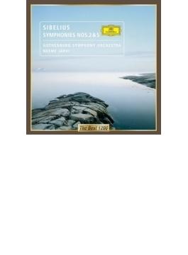 交響曲第2番、第5番 ネーメ・ヤルヴィ&エーテボリ交響楽団(2001、2002)