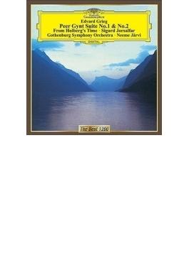 『ペール・ギュント』組曲第1番、第2番、ホルベルク組曲、十字軍の兵士シグール ネーメ・ヤルヴィ&エーテボリ響