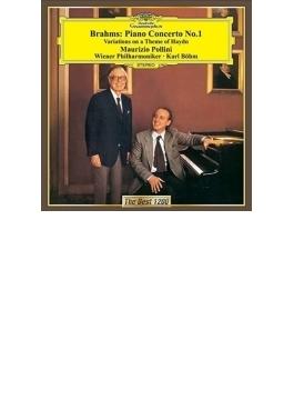 ピアノ協奏曲第1番、ハイドン変奏曲 ポリーニ、ベーム&ウィーン・フィル