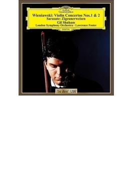 ヴィエニャフスキ:ヴァイオリン協奏曲第1番、第2番、サラサーテ:ツィゴイネルワイゼン シャハム、フォスター&ロンドン響