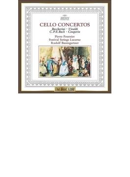 バロック・チェロ協奏曲集 フルニエ、バウムガルトナー&ルツェルン音楽祭弦楽合奏団