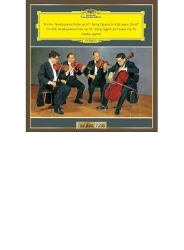 弦楽四重奏曲第1番、第2番 アマデウス四重奏団