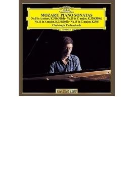 ピアノ・ソナタ第8番、第10番、第11番、第15番 エッシェンバッハ
