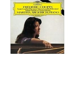 ピアノ・ソナタ第2番、スケルツォ第2番、アンダンテ・スピアナートと華麗な大ポロネーズ アルゲリッチ