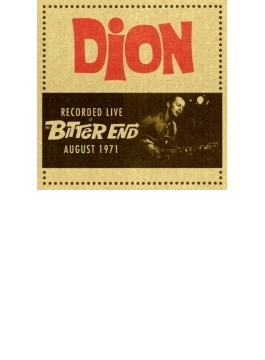 Recorded Live At The Bitter End