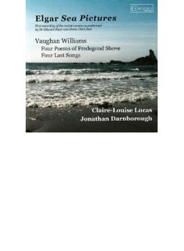 Sea Pictures, Etc: Claire-louise Lucas(Ms) Darnborough(P) +vaughan Williams