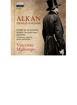 短調による12の練習曲全曲、グランド・ソナタ、悲愴的な様式による3曲、ソナチネ、他 マルテンポ(3CD)