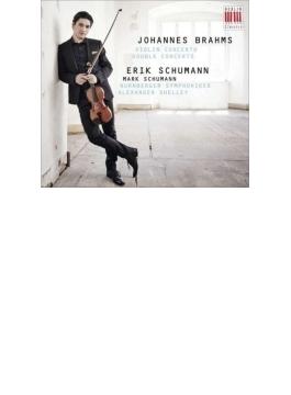 ヴァイオリン協奏曲、二重協奏曲 エリック・シューマン、マーク・シューマン、A.シェリー&ニュルンベルク響