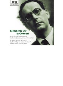 オットー・クレンペラー/ライヴ録音集~ベートーヴェン、ブラームス、ブルックナー、マーラー、他(10CD)