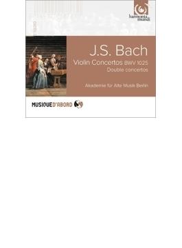 協奏曲集(ヴァイオリン協奏曲 BWV.1052、他) ベルリン古楽アカデミー