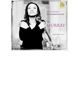 『20世紀アメリカのヴァイオリン作品集~コープランド、カーター、ケージ、コリリアーノ』 タイ・マレイ、アシュリー・ウォス