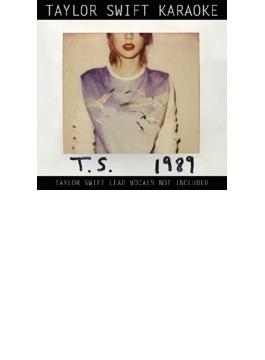 Taylor Swift Karaoke: 1989 (+DVD)