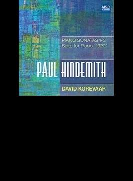 ピアノ・ソナタ第1番、第2番、第3番、組曲『1922年』 デイヴィッド・コレヴァー