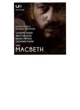 Macbeth: Schippers / St Cecilia Academic O Taddei Nilsson Prevedi Foiani