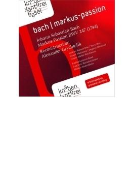 マルコ受難曲 トイチュバイン&バーゼル少年合唱団、カプリッチョ・バロック管、ヨハンセン、他(2CD)
