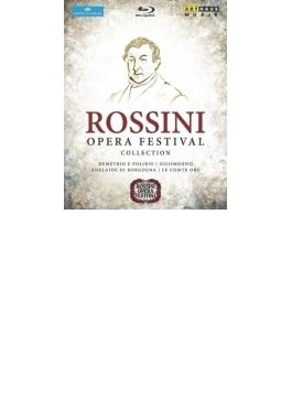 ロッシーニ音楽祭コレクション~オリー伯爵、デメトリオとポリビオ、シジスモンド、ブルゴーニュのアデライーデ(4BD)