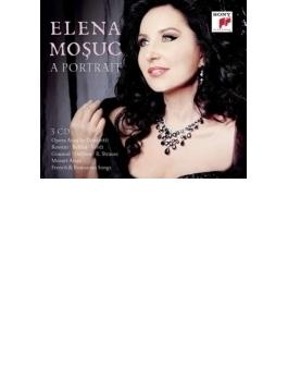 エレナ・モシュク/ポートレイト~コロラトゥーラ・アリア集、モーツァルト・アリア集、フランス歌曲集(3CD)