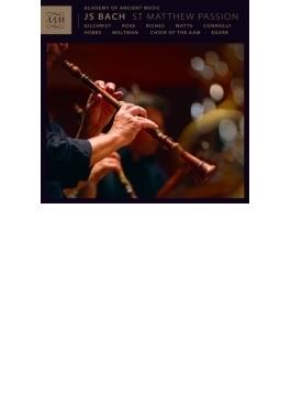 『マタイ受難曲』1727年版 エガー&エンシェント室内管弦楽団、ギルクリスト、M.ローズ、他(3CD)