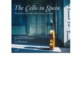 『スペインのチェロ~ボッケリーニと18世紀の巨匠たち』 オブレゴン&ラ・リティラータ