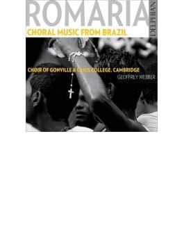『ホマリア~ブラジルの合唱作品集』 G.ウェッバー&ケンブリッジ・ゴンヴィル・アンド・キーズ・カレッジ合唱団