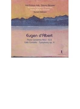 Piano Concerto, 1, 2, Cello Concerto, Symphony: Kolly(P) Meneses(Vc) Zollmann / Barcelona So Basle So