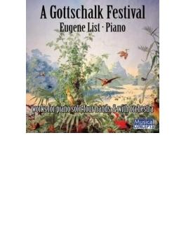 Gottschalk Festival-piano Solo, 4 Hands, With Orch: E.list(P) Abravanel / Utah So Etc