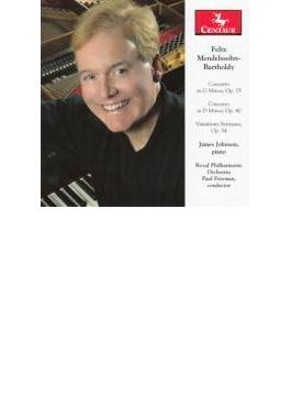 Piano Concerto, Etc: James Johnson(P) Freeman / Rpo
