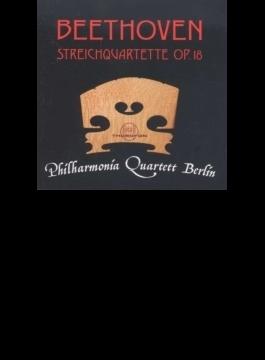 String Quartet, 1, 2, 3, 4, 5, 6, (Op, 18, ): Philharmonia Quartett Berlin