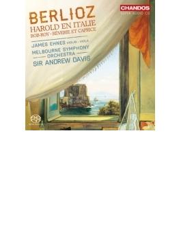 『イタリアのハロルド』、夢とカプリス、『ロブ・ロイ』 エーネス、アンドルー・デイヴィス&メルボルン響