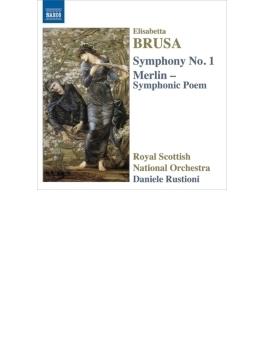 交響曲第1番、交響詩『メルリン』 ルスティオーニ&スコティッシュ・ナショナル管