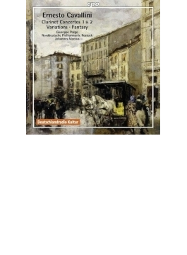クラリネット協奏曲第1番、第2番、『夢遊病の女』の主題による幻想曲、ロシアのロマンスによる3つの変奏曲 ポルゴ、メーズス&ロストック北ドイツ・フィル
