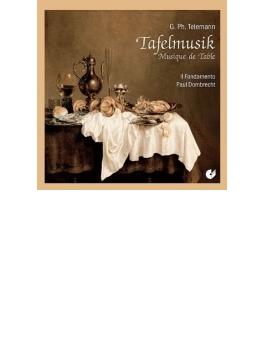 Tafelmusik Book, 3, : Dombrecht / Il Fondamento