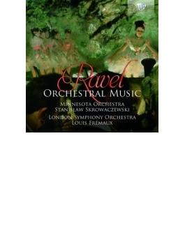 管弦楽曲集 フレモー&ロンドン響、スクロヴァチェフスキ&ミネソタ管(2CD)