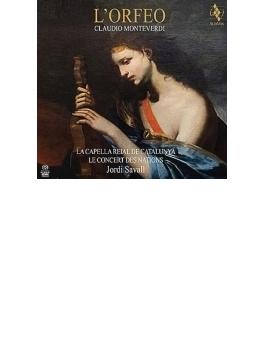 『オルフェオ』全曲 サヴァール&ル・コンセール・デ・ナシオン、ザナージ、フィゲーラス、他(2002 ステレオ)(2SACD)