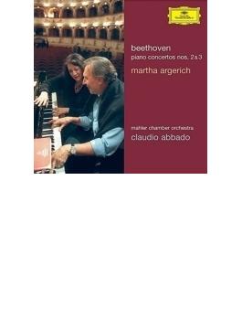 ピアノ協奏曲第2番、第3番 アルゲリッチ、アバド&マーラー・チェンバー・オーケストラ