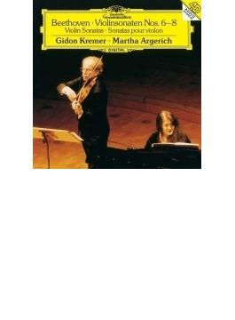 ヴァイオリン・ソナタ第6番、第7番、第8番 クレーメル、アルゲリッチ