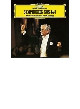交響曲第5番『運命』、第4番 バーンスタイン&ウィーン・フィル(シングルレイヤー)