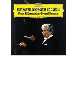 交響曲第7番、第8番 バーンスタイン&ウィーン・フィル(シングルレイヤー)