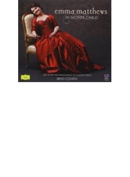 Emma Matthews In Monte Carlo: E.matthews(S) B.cohen / Monte Carlo Po