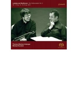 Violin Sonata, 1, 2, 3, 8, : Irnberger(Vn) Korstick(P) (Hyb)