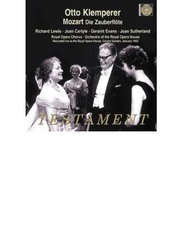 『魔笛』全曲 クレンペラー&コヴェント・ガーデン、ルイス、サザーランド、他(1962 モノラル)(2CD)