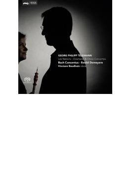 序曲集、オーボエ協奏曲集 デメイエル&バッハ・コンセントゥス、ボードウィン