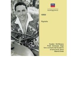 『リゴレット』全曲 エレーデ&聖チェチーリア国立音楽院管、プロッティ、デル・モナコ、ギューデン、他(1954 モノラル)(2CD)