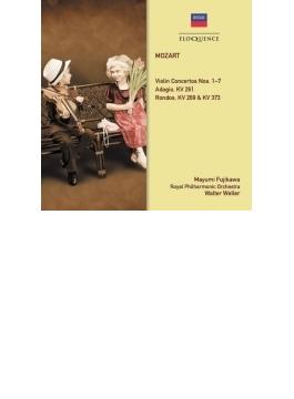 ヴァイオリン協奏曲全集、2つの偽作協奏曲、2つのロンド、アダージョ 藤川真弓、ヴェラー&ロイヤル・フィル(3CD)