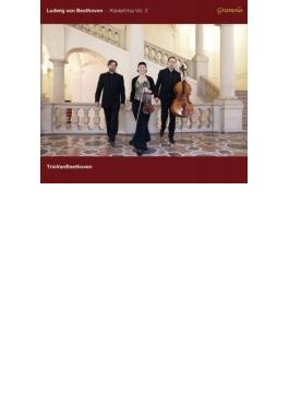 Piano Trios Vol.2(Piano Trio, 7, Kakadu Variations, Etc): Trio Van Beethoven