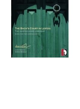 『2台のチェンバロのための作品集~バッハ親子、クレブス』 ルイージ・アッカルド、エンリコ・ビッソロ