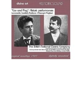 I Pagliacci / Cavalleria Rusticana: Goossens / Buesst / British National Opera Company