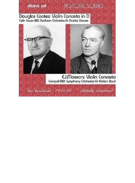 Violin Concerto: Campoli(Vn) Boult / Bbc So +douglas Coates: Concerto: C.sauer(Vn) C.groves /